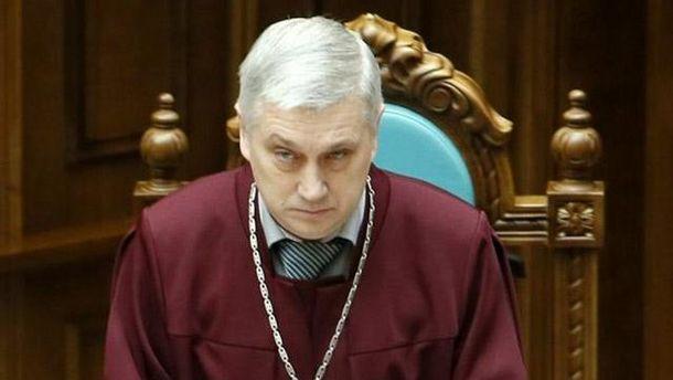 Судья Конституционного суда Украины Олег Сергийчук