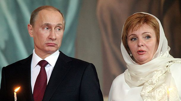 Володимир Путін з колишньою дружиною Людмилою