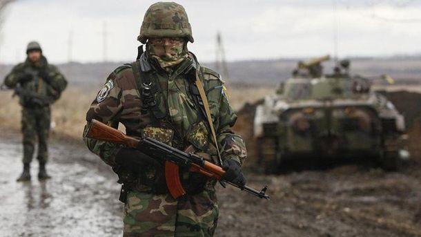 Українські воїни на Донбасі