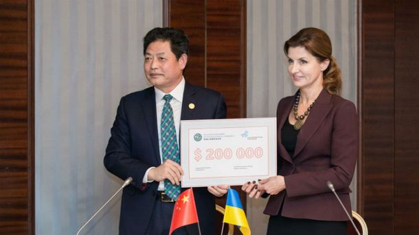 Китай виділив грант на 200 тисяч доларів