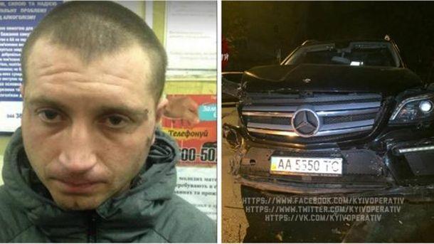 Денис Молоток и его Mercedes