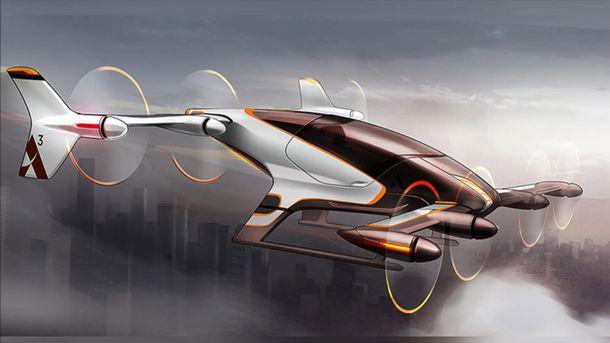 Летающее такси будущего