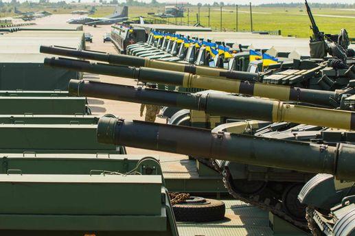Украина в ТОП-30 мощных военных держав