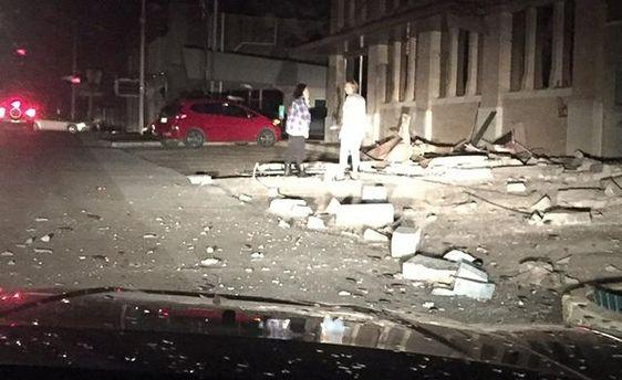Землетрус в Оклахомі