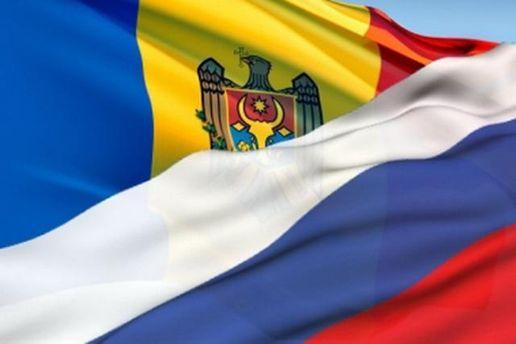 Прапори Молдови та Росії