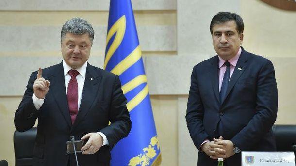 Саакашвили отказал Порошенко возглавить БПП