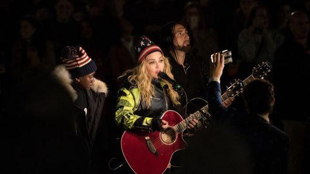 Концерт Мадонни