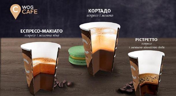 Три оттенка нового кофе на WOG