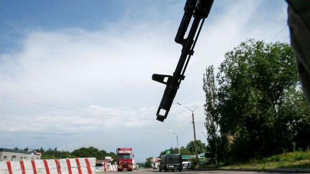 Пункт пропуска на Донбассе