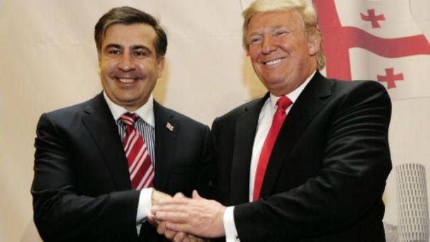Саакашвили говорит, что знает Трампа уже более 20 лет