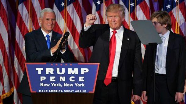 Трамп избран 45-м президентом США