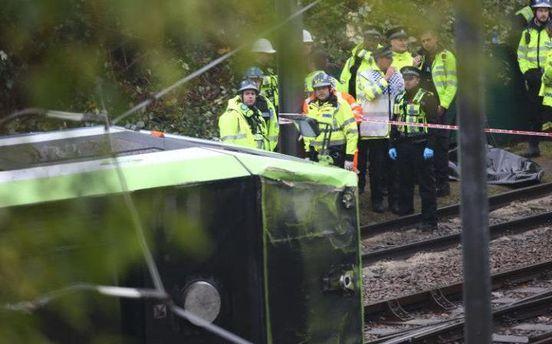 Аварія трамвая