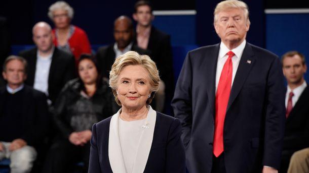 Гілларі Клінтон і Дональд Трамп