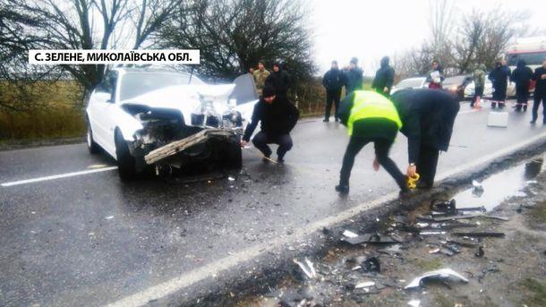 Авария на Николаевщине