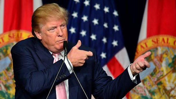 Новоспечений президент США Дональд Трамп