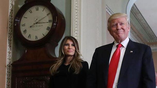 Дональд Трамп з дружиною