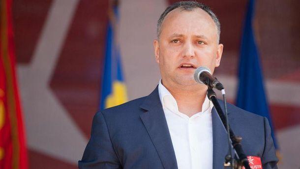 Социалист Игорь Додон