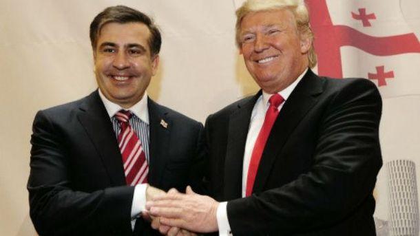 Саакашвили объяснил, чем Трамп-президент опасен для Украины