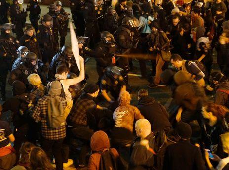 Протести у Портленді