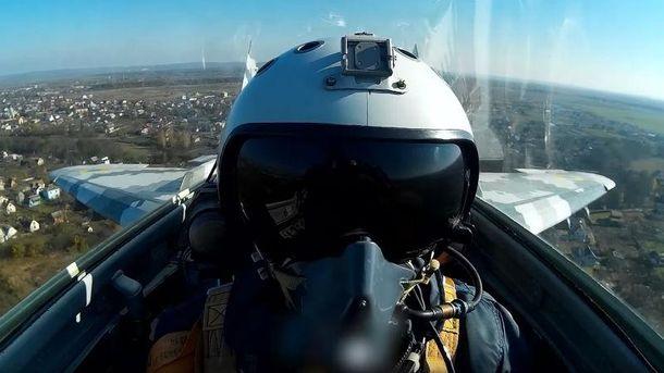 Пілоти відпрацьовували ведення  боїв