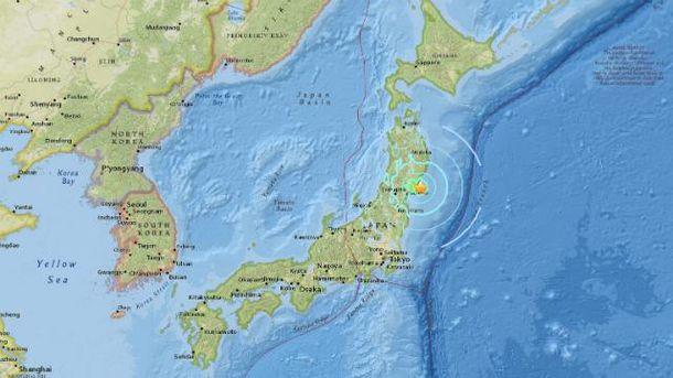 Новое землетрясение потрясло Японию и Италию