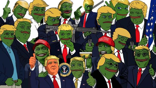 Мем на нового президента США