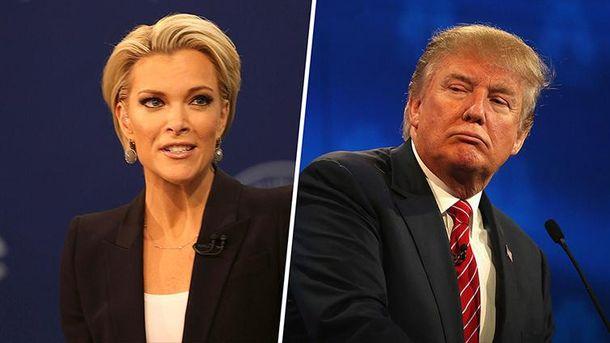 Мегин Келли против Дональда Трампа
