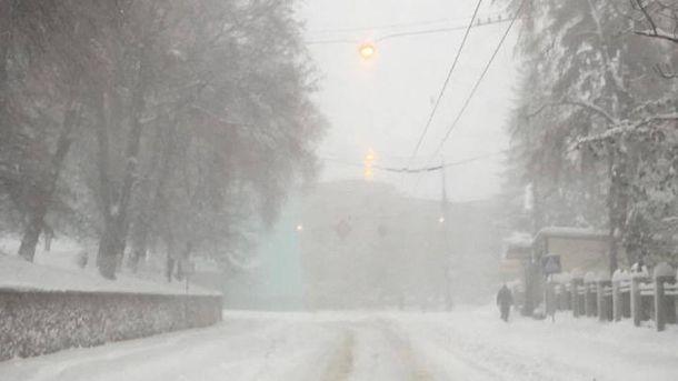 Негода на Тернопільщині