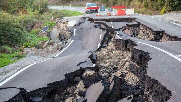 Результат землетрусу у Новій Зеландії