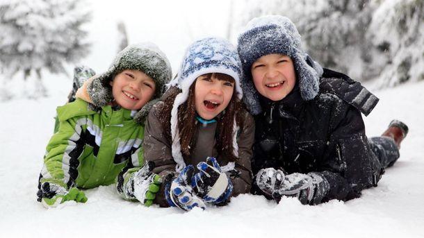Снігу найбільше радіють діти
