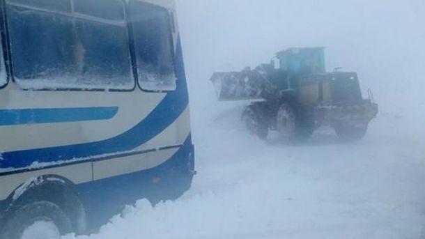 Негода вирує в Україні