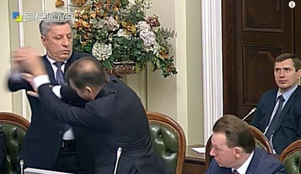 Юрій Бойко вдарив Олега Ляшка