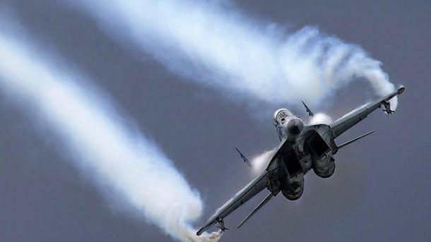 МіГ-29 розбився у Середземному морі