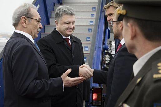 Петро Порошенко з представниками влади Швеції