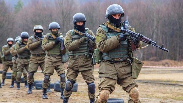 Украинский нацгвардейцы