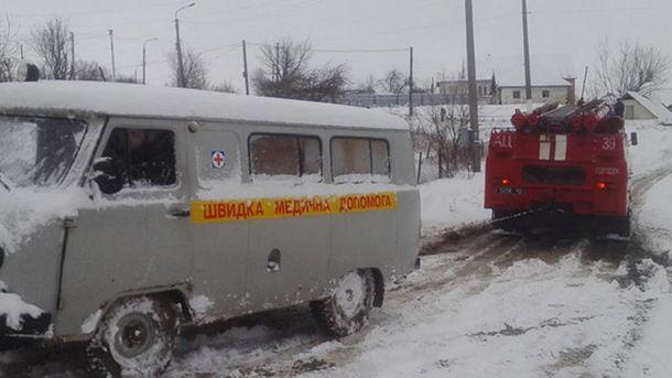 Негода наробила немало лиха в Україні