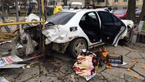 Аварія в Криму