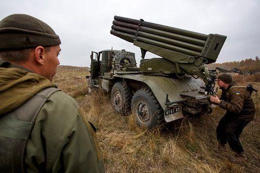 Бійці АТО на Донбасі