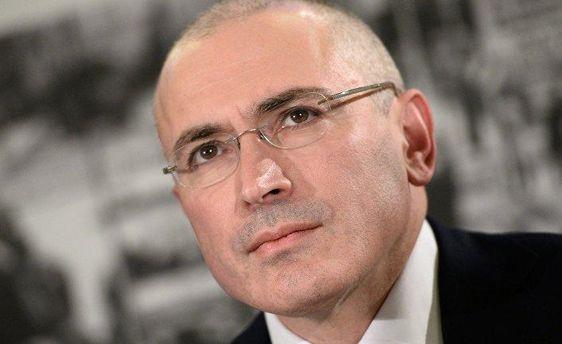 Российский политик Ходорковский