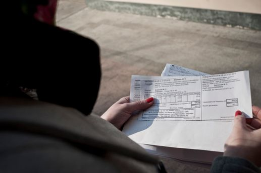 Киевлян шокировали платежки
