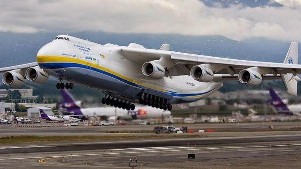 й Ан-225 перевіз вантаж вагою в 182 тонни