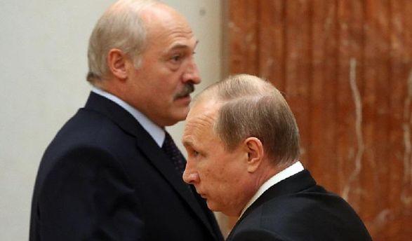 Лукашенко та Путін
