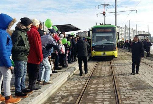 Трамвай на Сихов