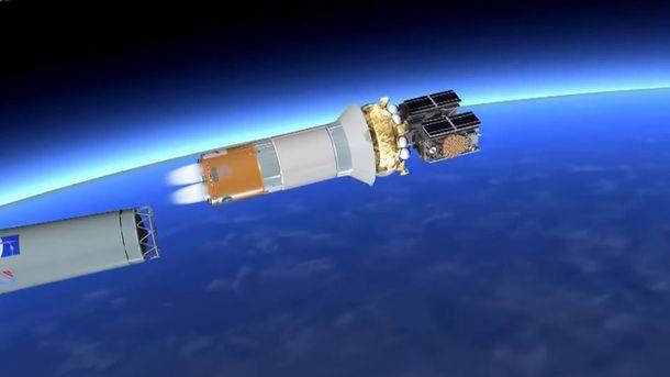 Скосмодрома вКуру стартовала ракета Ariane-5 соспутниками системы Galileo