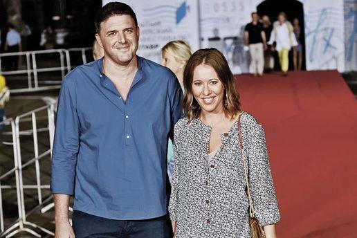 Ксенія Собчак з чоловіком