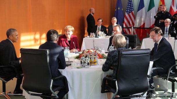 Зустріч лідерів ЄС та США