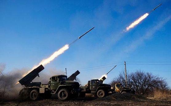 Бойовики обстрілюють позиції сил АТО