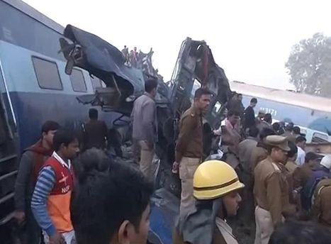 Железнодорожная авария в Индии