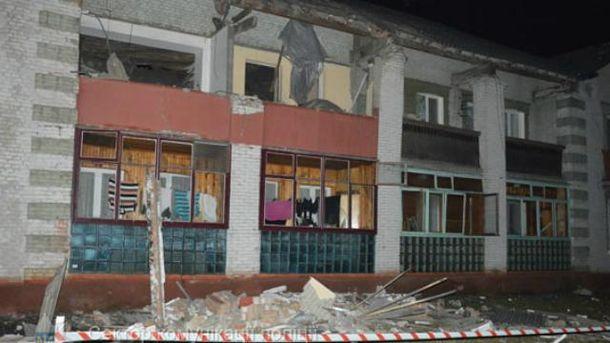 В Нововолынске произошел взрыв газа