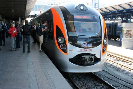 Потяг у Києві